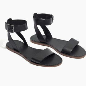 Madewell Boardwalk Leather Sandal 7.5